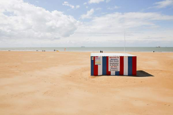 Margate beach, Kent, UK