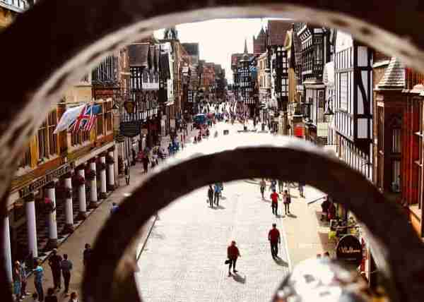 Chester Cheshire England UK local history