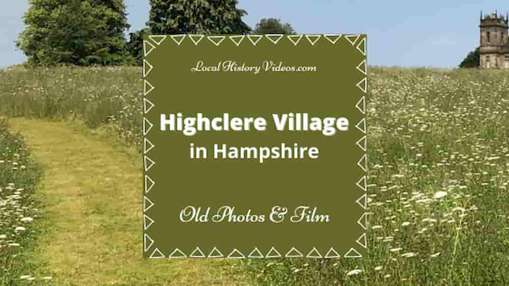 Highclere village Hampshire