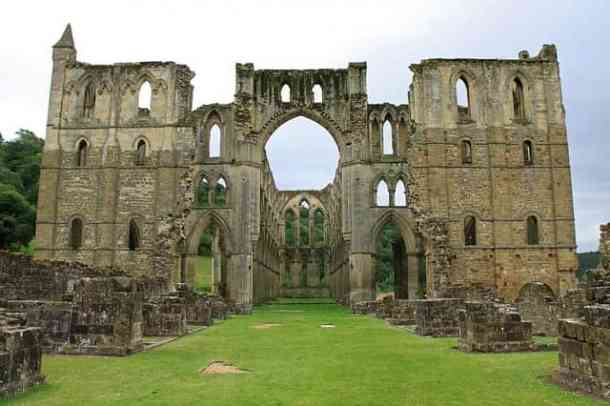 Rievaulx Yorkshire monastery Abbey Dissolution England UK