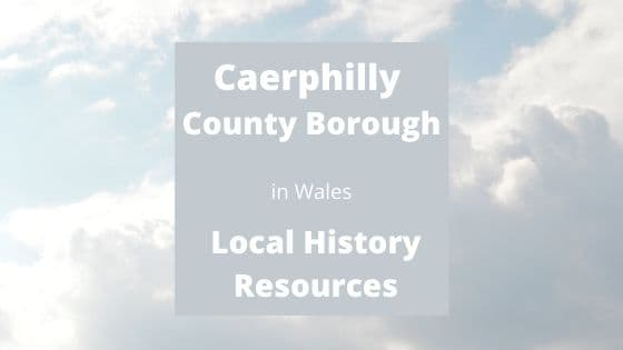 Caerphilly County Borough Wales UK