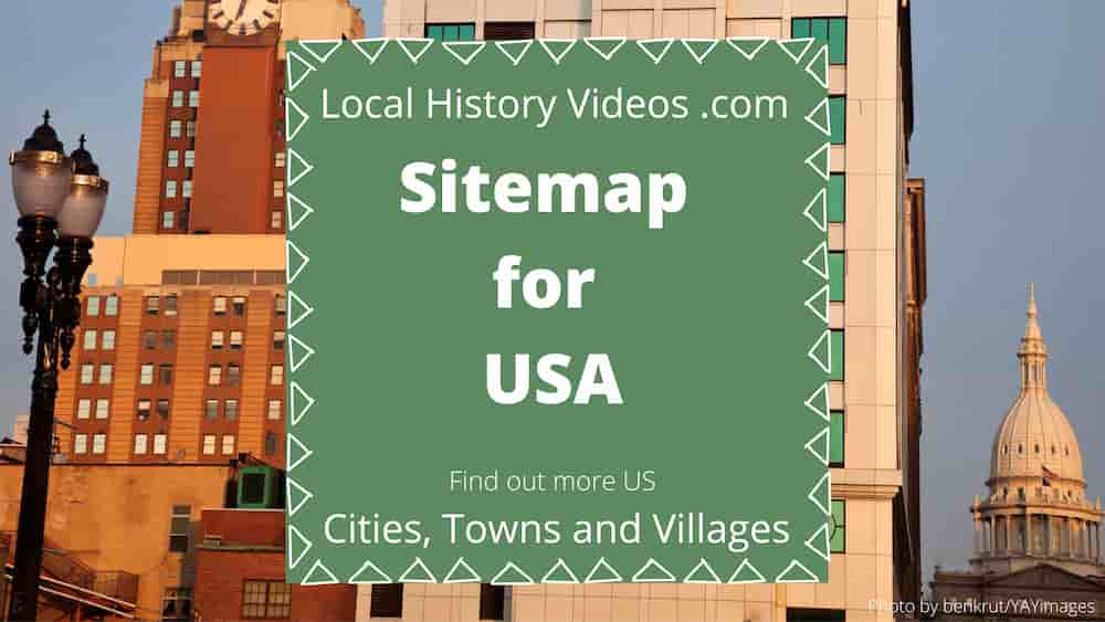 Sitemap for bygone USA cities & towns