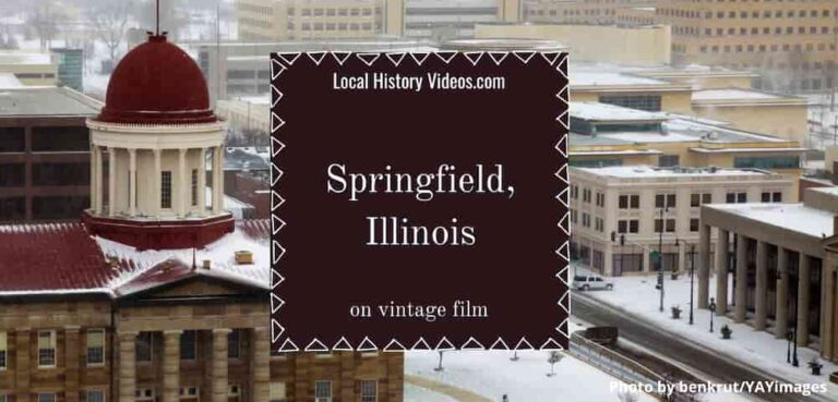 Springfield Illinois old images and local history